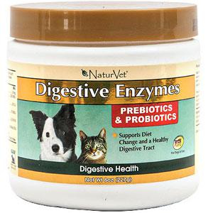 Digestive Enzymes Amp Probiotics For Dogs Amp Cats Naturvet